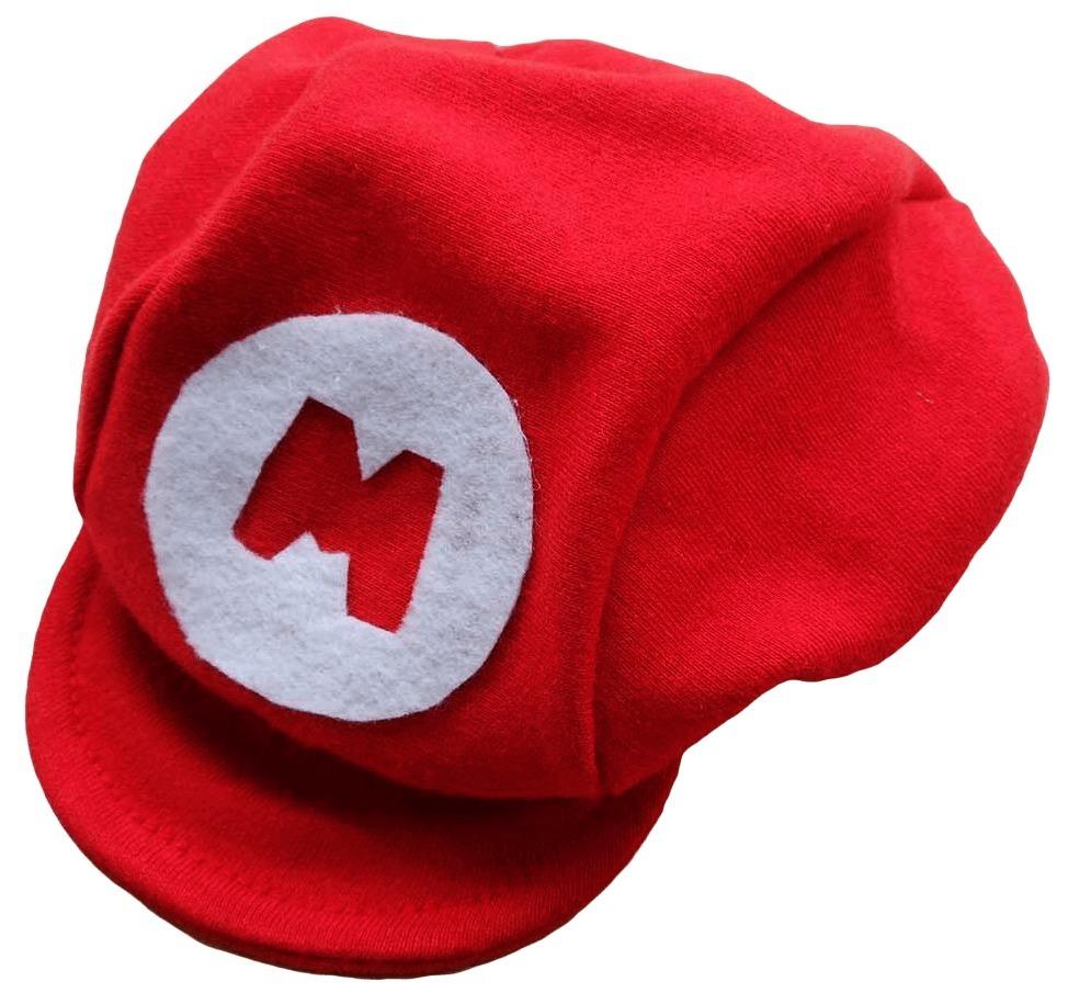 ee18f3567378b boné boina chapéu super mario bros para bebê p m g. Carregando zoom.