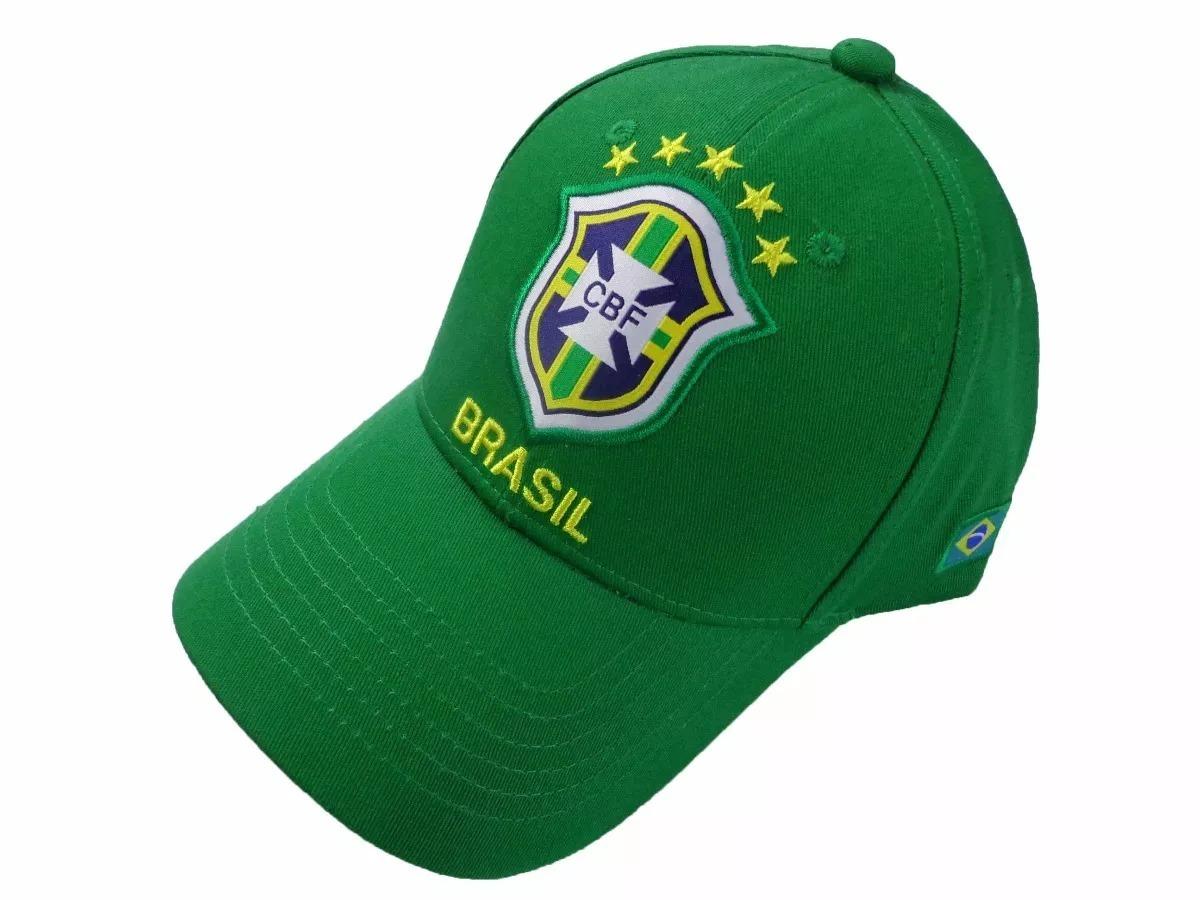 bone brasil aba curva cbf oficial seleção copa cbf0091 verde. Carregando  zoom. dcd10138d9f