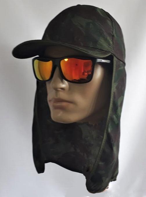 Boné C  Proteção + Óculos Polarizado Lente Espelhada - R  49,90 em ... 8a98365c54