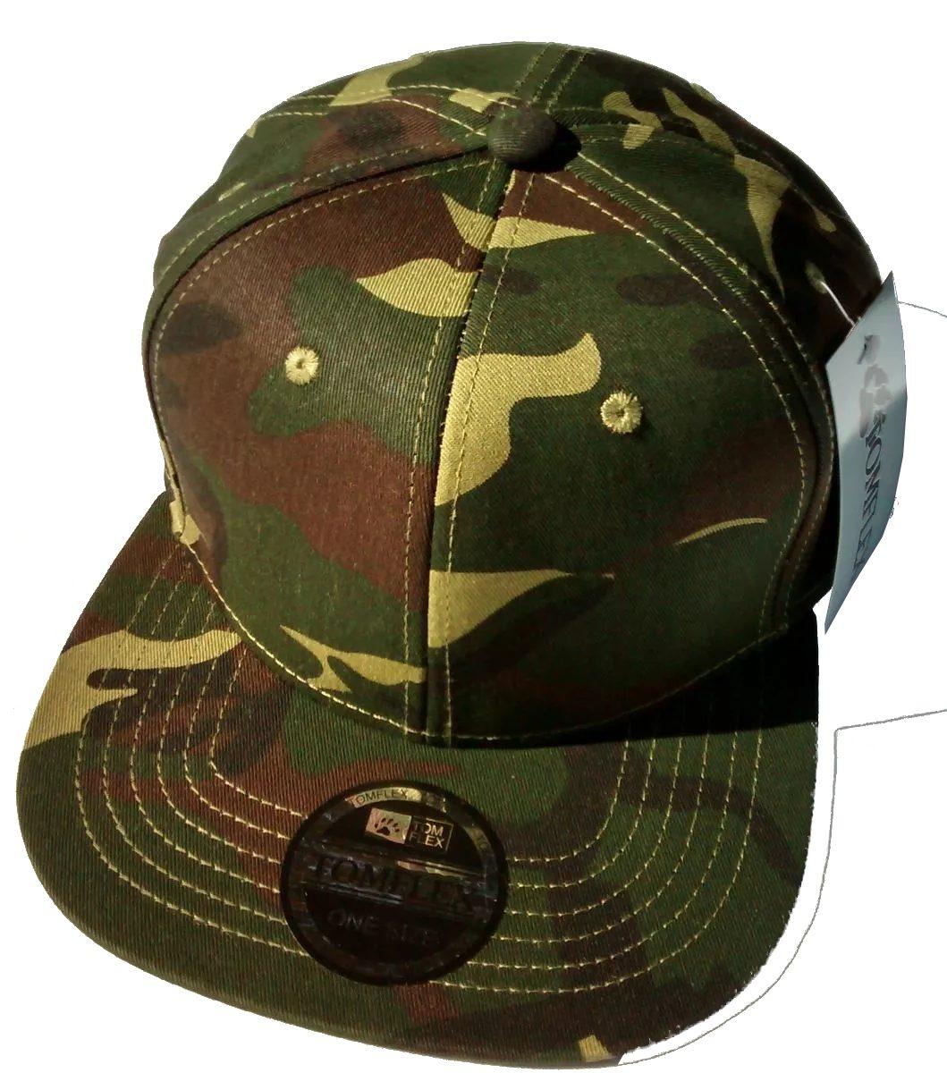 boné camuflado exército verde aba reta militar importado top. Carregando  zoom. 3fd150b3506