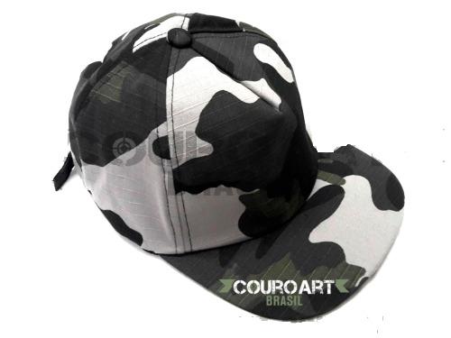 Boné Camuflado Urbano - Ajustável Airsoft Paintball - R  30 63ddfa07e06