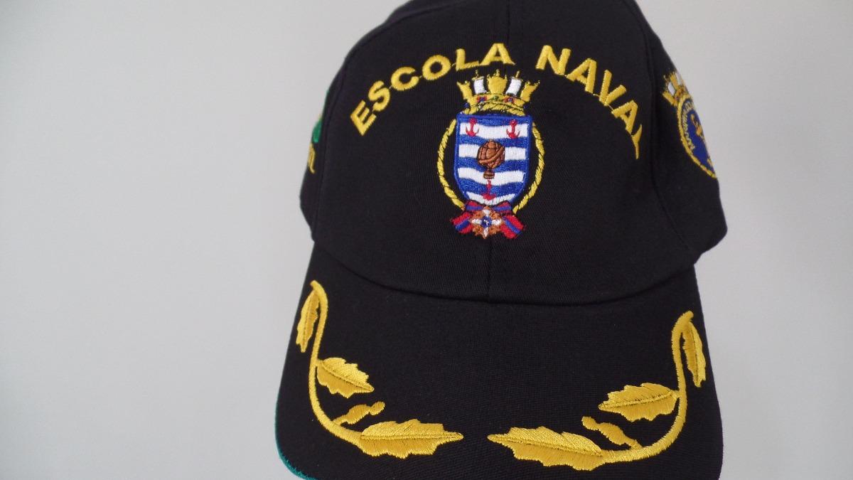 c4980fe3cc528 boné   chapeu escola naval brasil para oficial unico do ml. Carregando zoom.