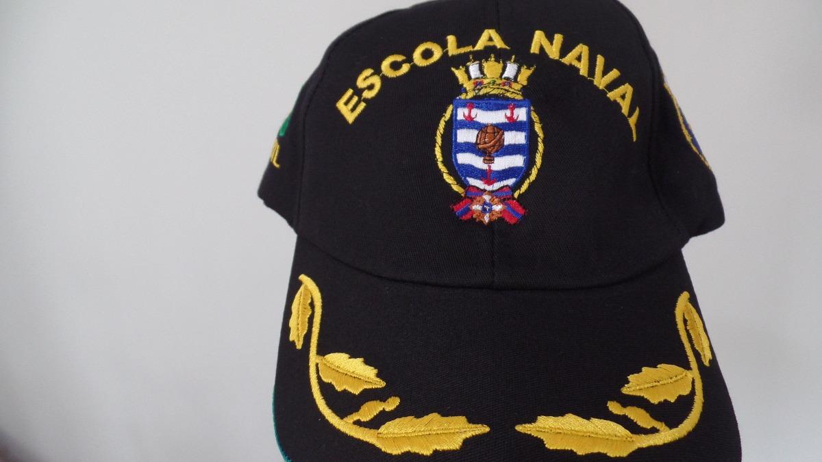 boné chapeu escola naval marinha do brasil para oficial. Carregando zoom. 14783c6ef68