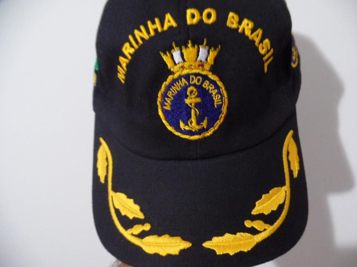 Boné   Chapéu Marinha Brasil   Eb Original Oficial Unico Ml - R  39 ... ea3995a21ab
