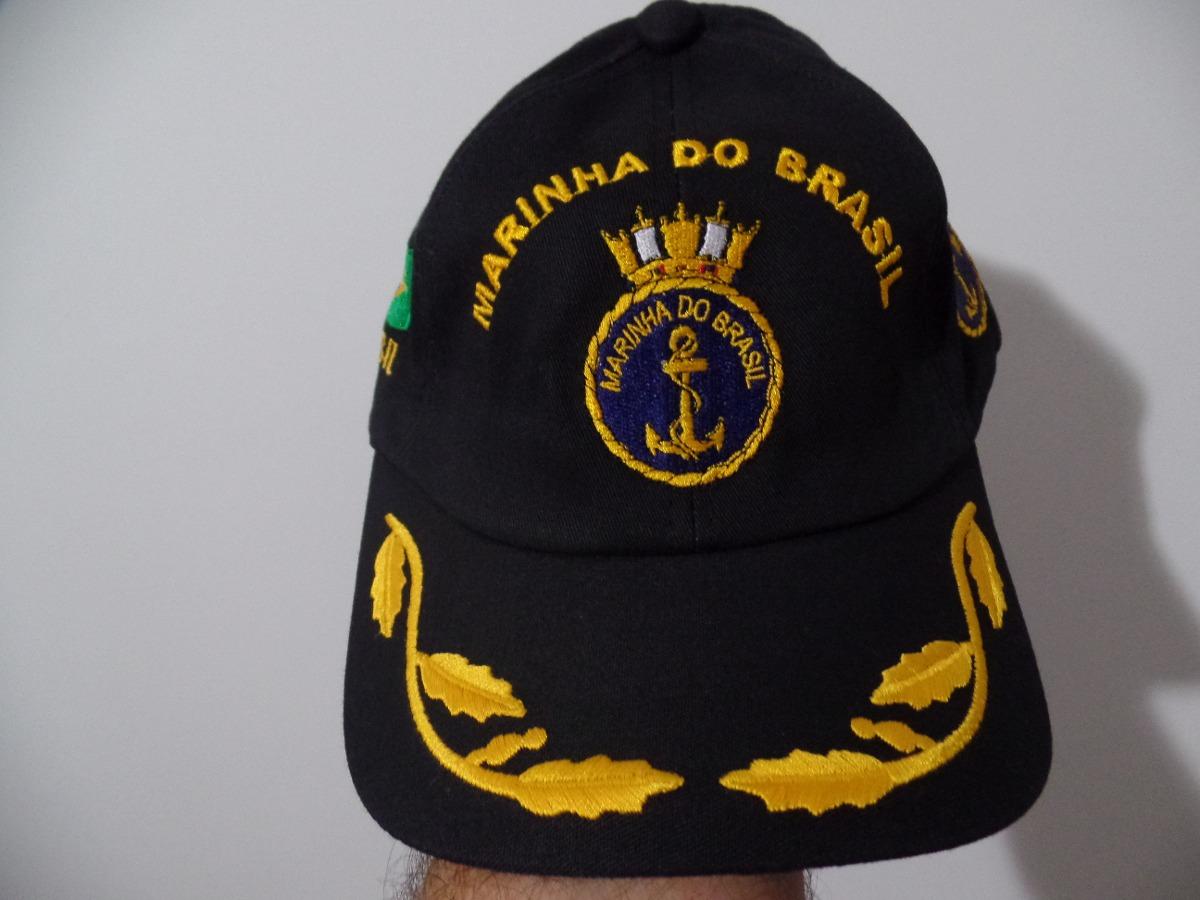 c5f13c10cbdbd Boné   Chapéu Marinha Brasil   Eb Original Oficial Unico .