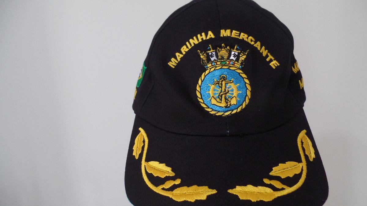 b4e04d1876efa boné chapeu marinha mercante do brasil oficial unico do ml!! Carregando  zoom.