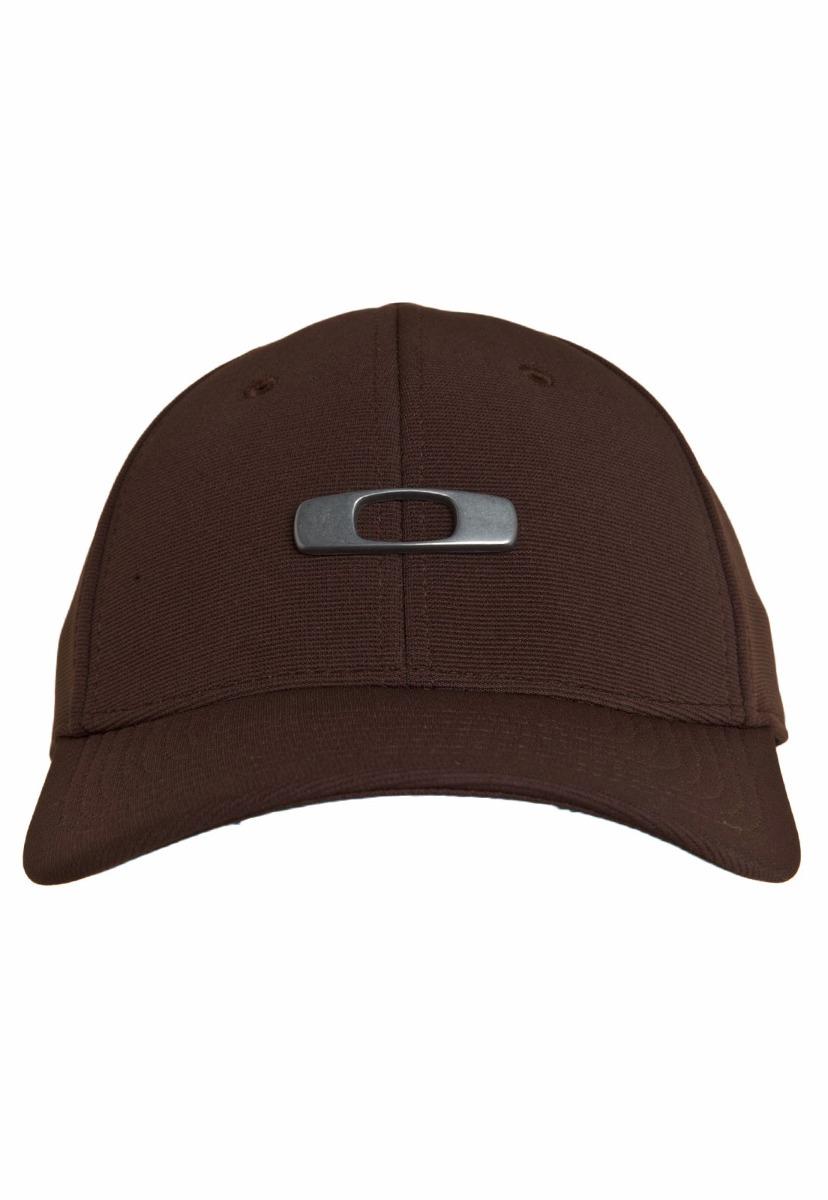 boné chapéu oakley metal gascan marrom original. Carregando zoom. 9189d5c02f6