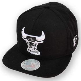 Boné Chicago Bulls Aba Reta Snapback - Valor Em Promoção