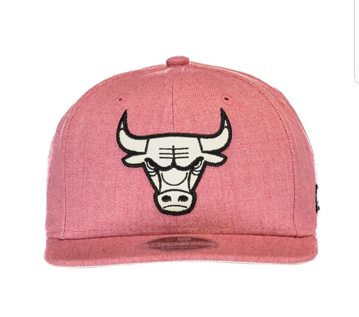 bone chicago bulls rosa mescla. Carregando zoom. 92151bf1204