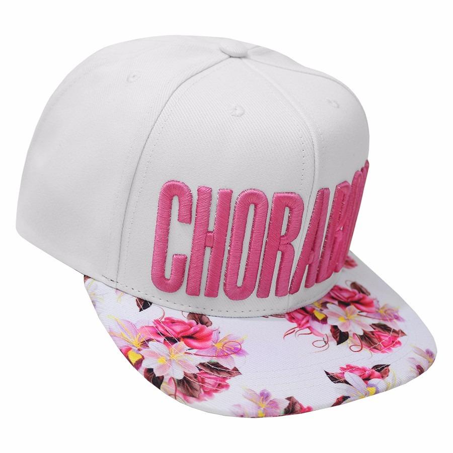 boné choraboy floral snapback aba reta original - rfb064. Carregando zoom. 2632c234cff