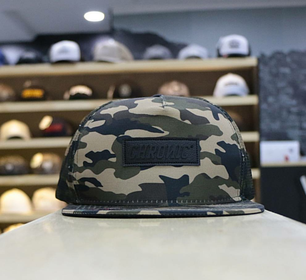 bone chronic camuflado all camo aba reta snapback original. Carregando zoom. 0b3b5d62213