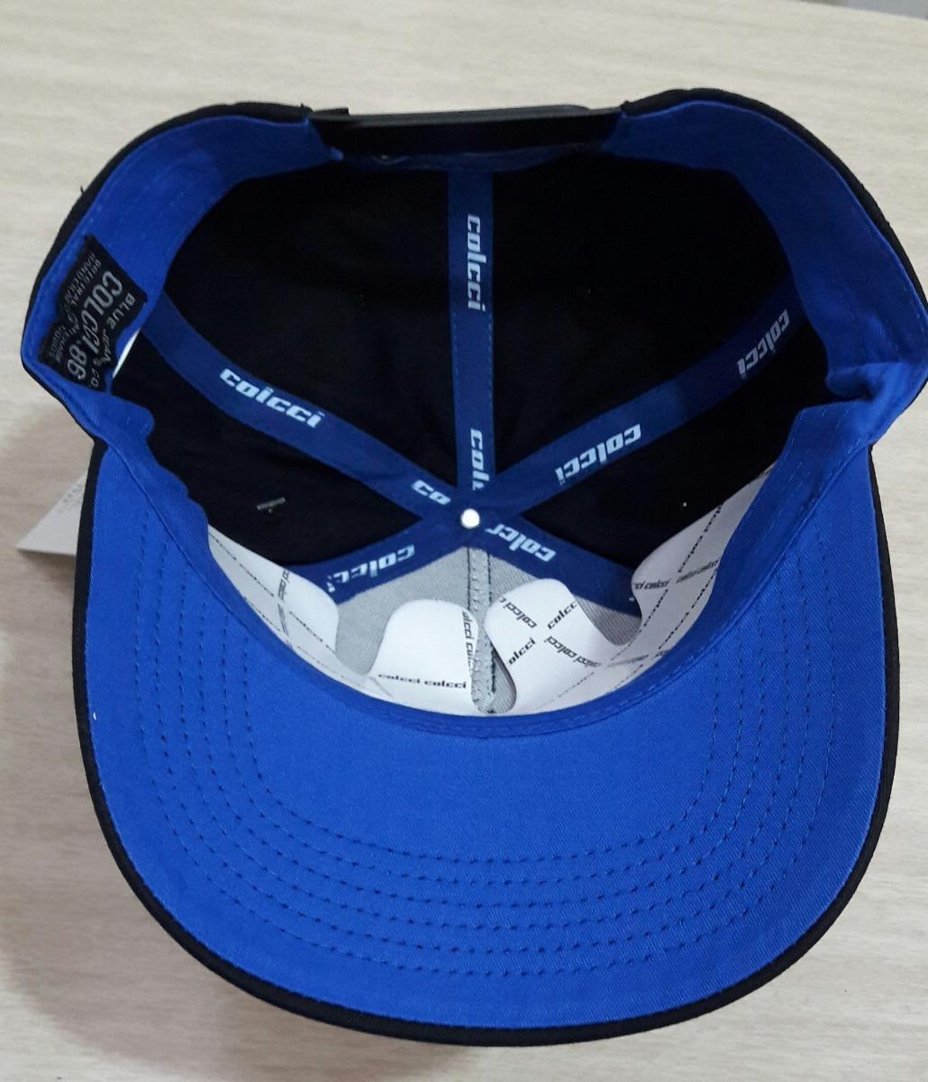 boné colcci azul preto ultracap whatever 100% original. Carregando zoom. 2795b01d72f