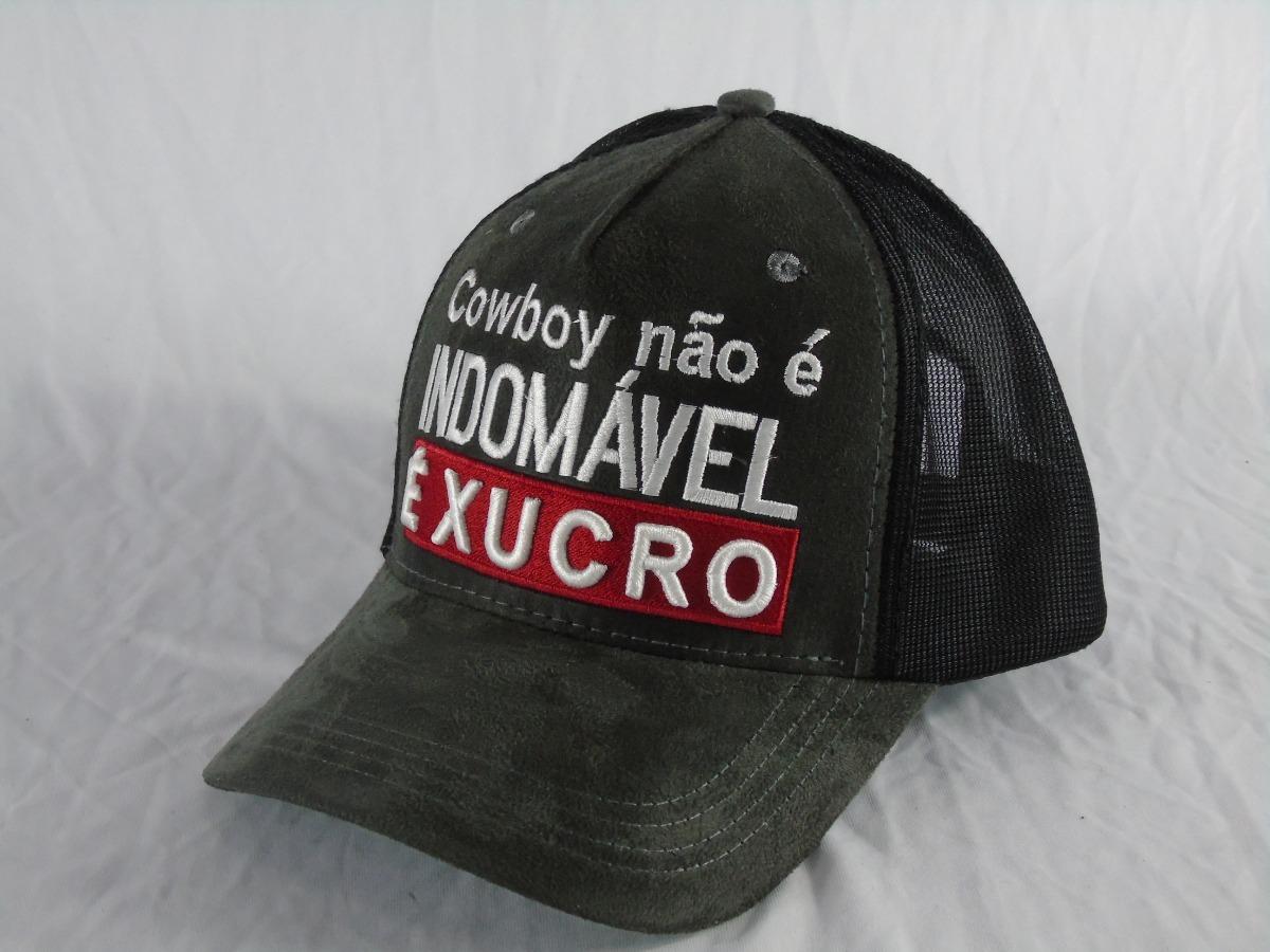 de1368c6b1c86 Boné Country Cowboy Não É Indomável