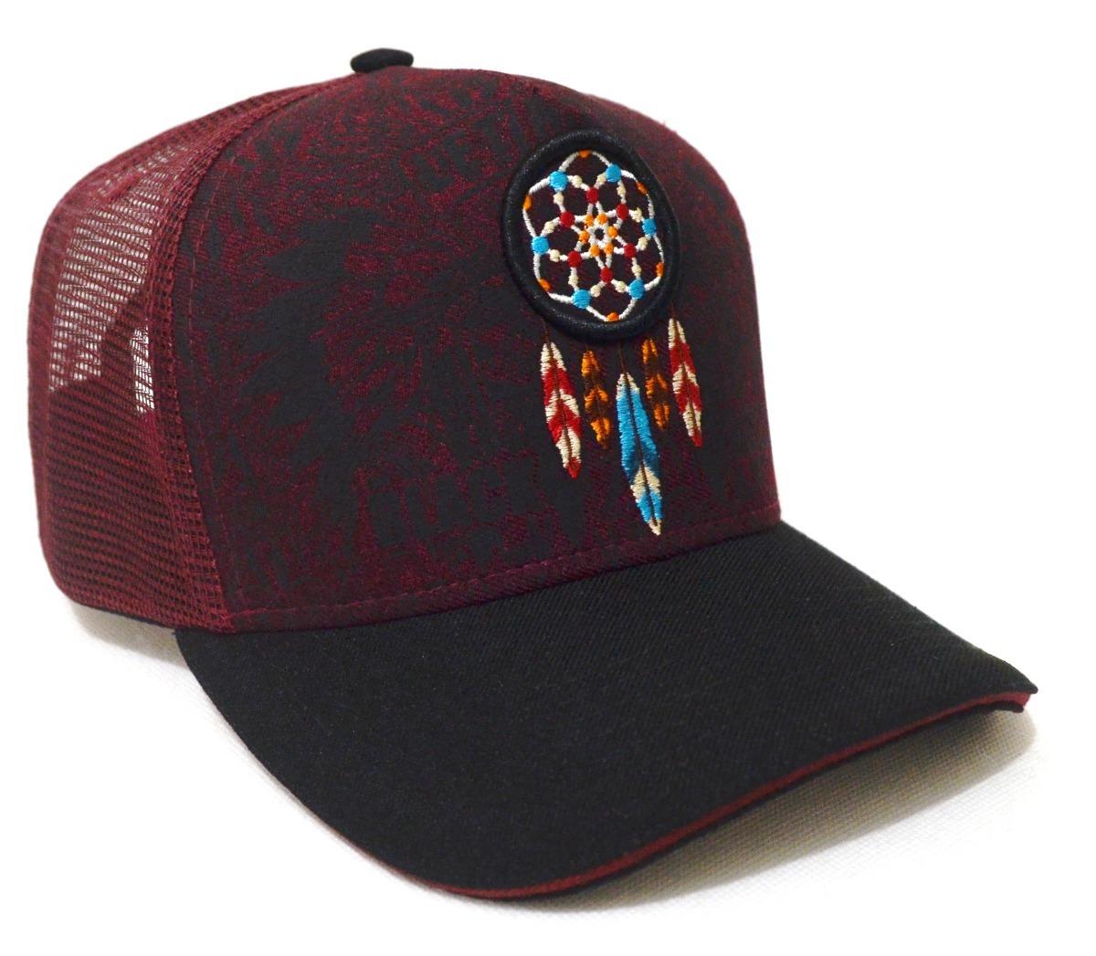 Boné Country Índio Apache Feminino Masculino Aba Curva - R  49 0e491dc8548