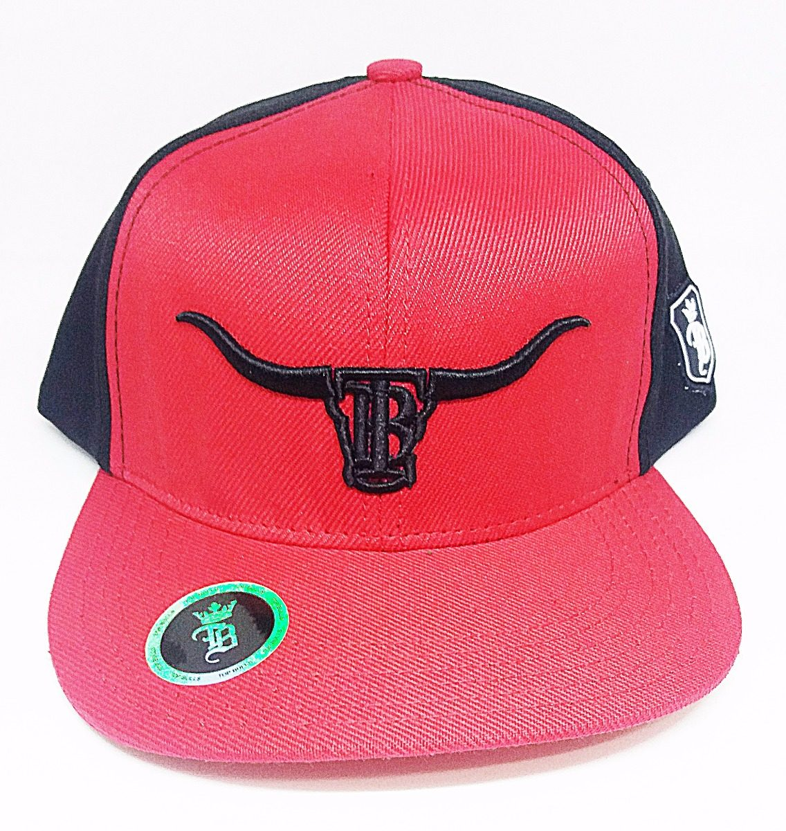 boné country vermelho com preto touro bordado top bulls. Carregando zoom. 305abd7a206