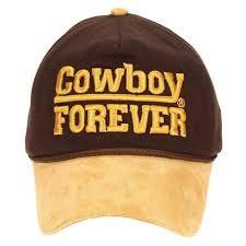 6fca8aada65f1 Boné Cowboy Forever Original Marrom Aba Em Couro - R  45