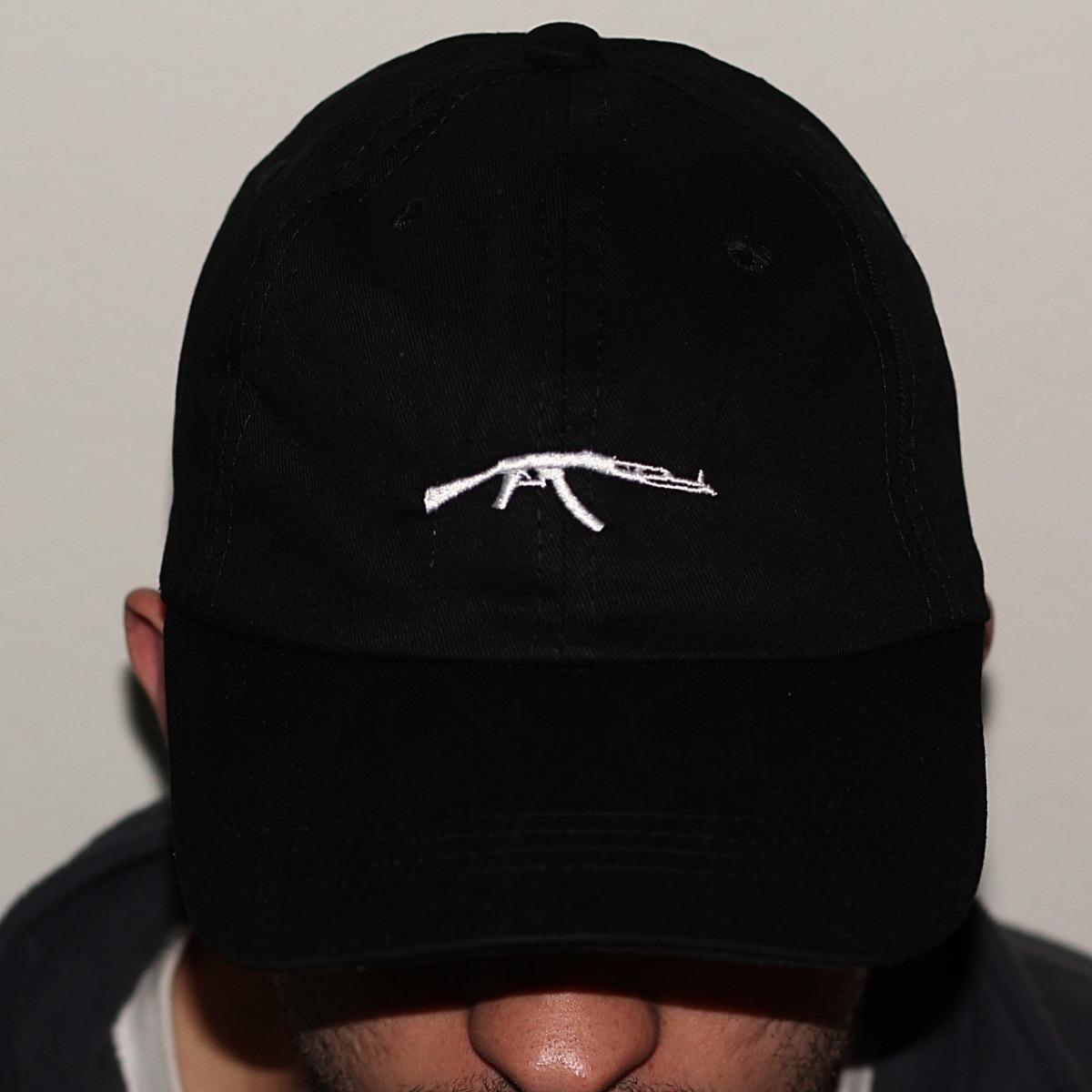 Boné Dad Hat Aba Curva Ak-47 Sad Boys 6 God Pronta Entrega - R  44 ... d6ea40b5709