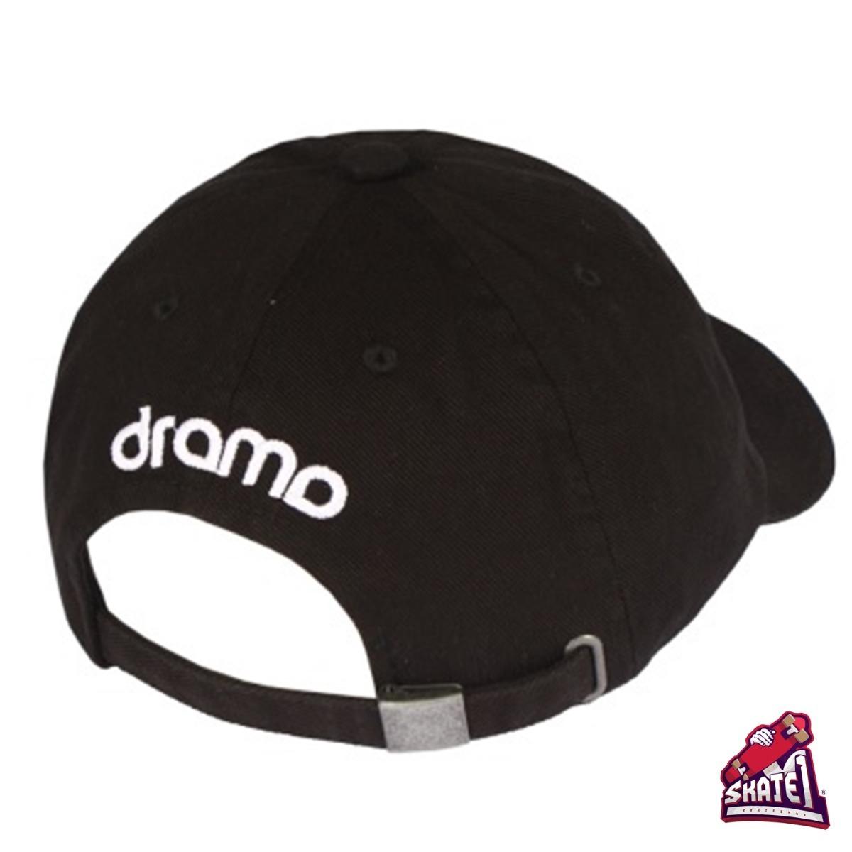 boné dad hat aba curva drama original logo preto. Carregando zoom. 2b28ab66e1f