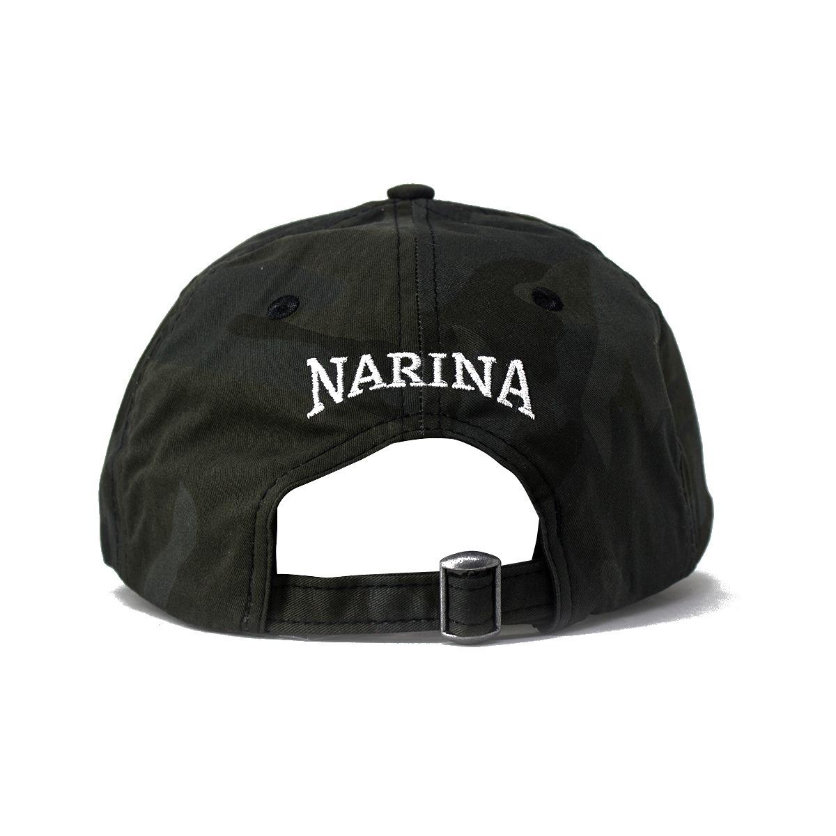 Boné Dad Hat Narina Aba Curva Camuflado Escuro Original - R  69 96b6c458c6a
