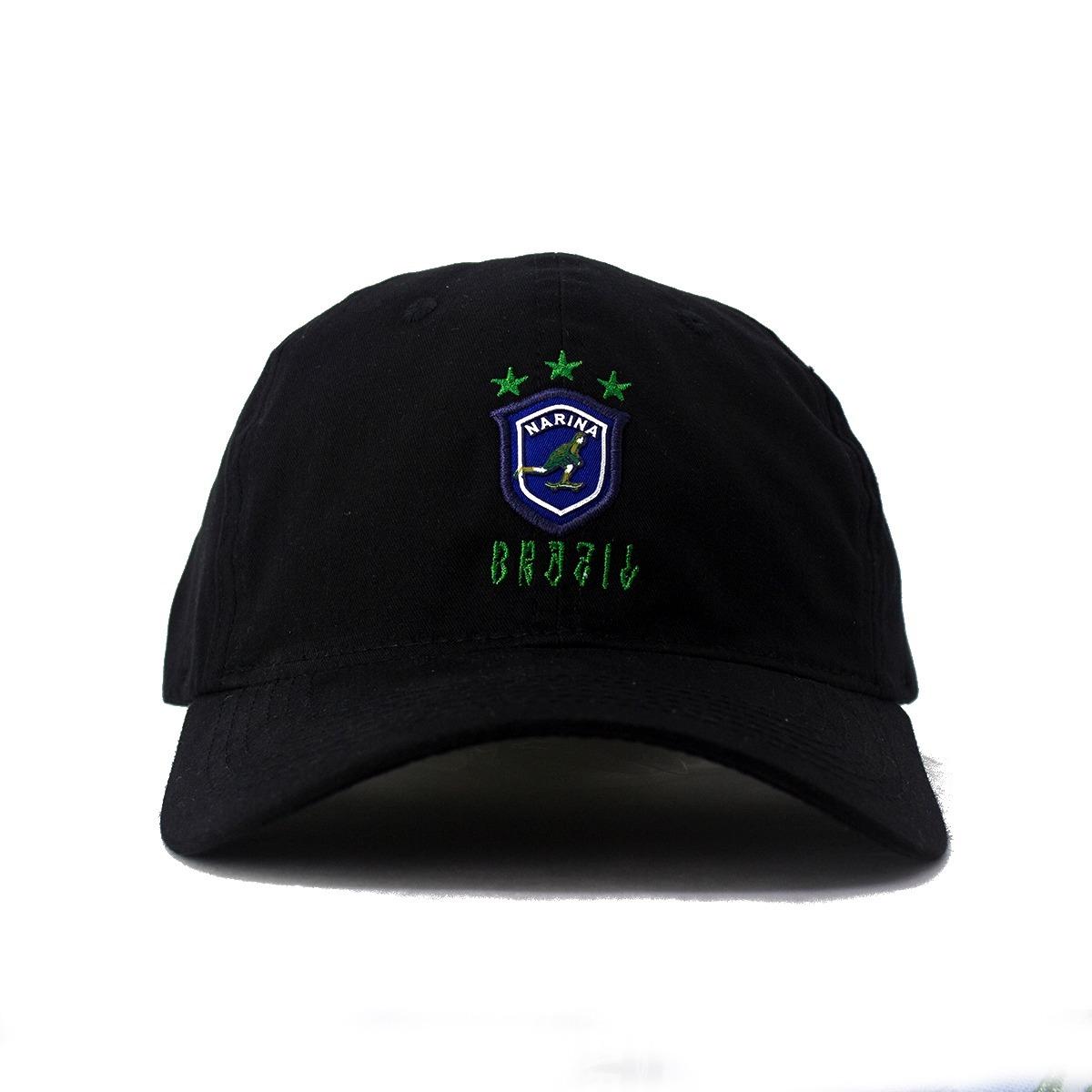 boné dad hat narina copa preto aba curva original. Carregando zoom. 6bf83a11002