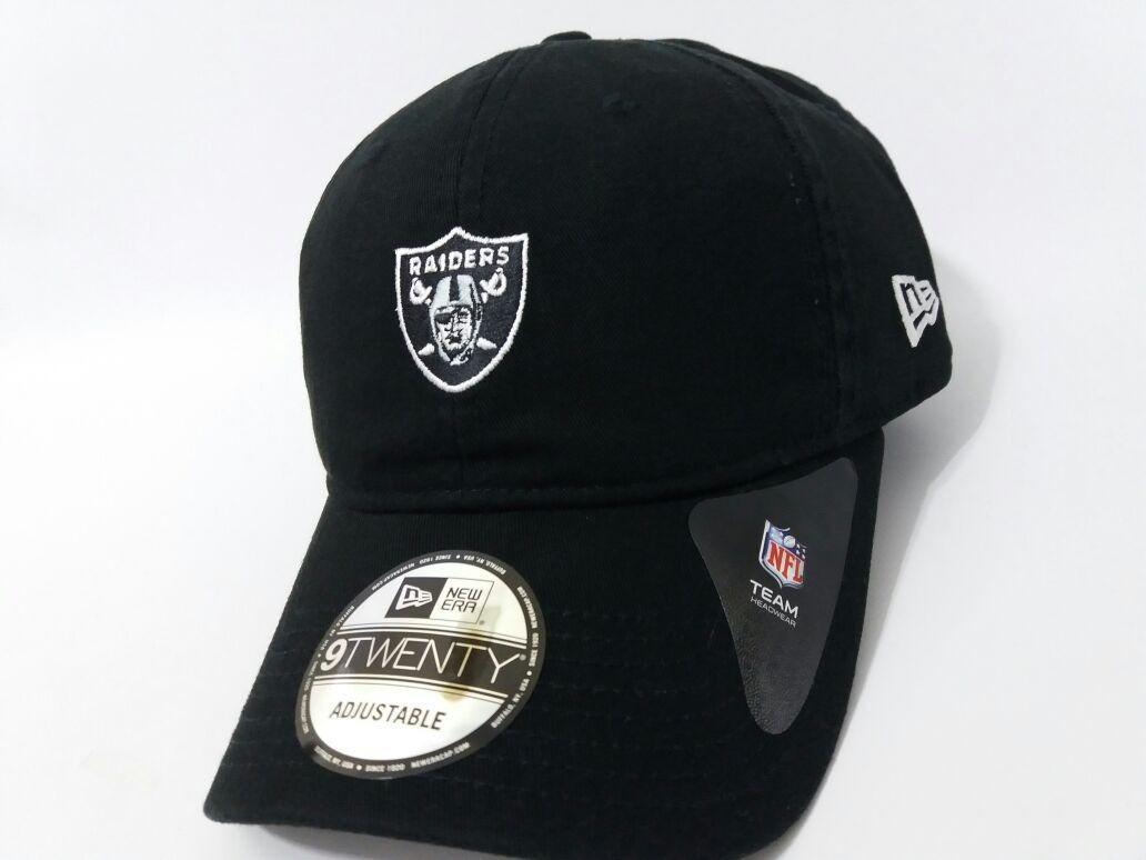 036ebc1f3324a Boné Dad Hat New Era Oakland Raiders Logo Nfl Original - R  134