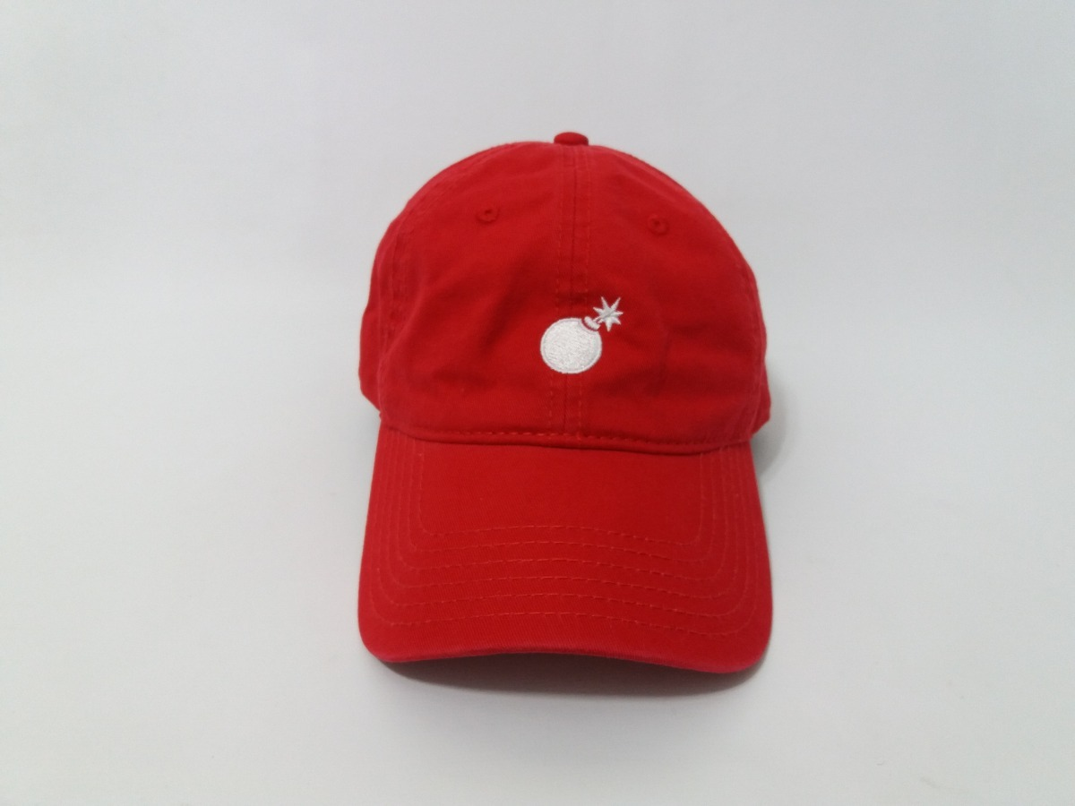 3a3ee877ad82c boné dad hat the hundreds solid bomb vermelho eua original. Carregando zoom.