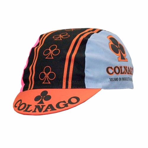 boné de ciclismo colnago cores, retrô ,made in italy