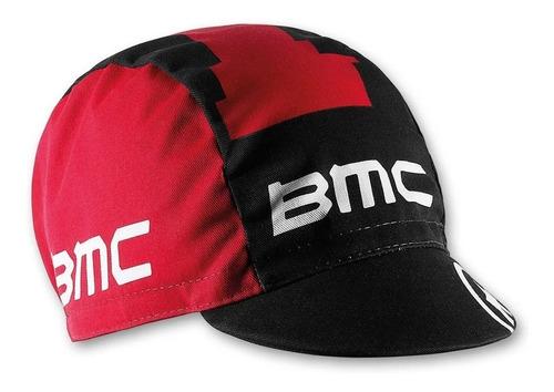 bone de ciclismo preto/vermelho bmc
