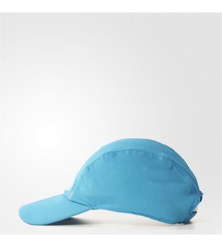 boné de corrida adidas climacool azul claro