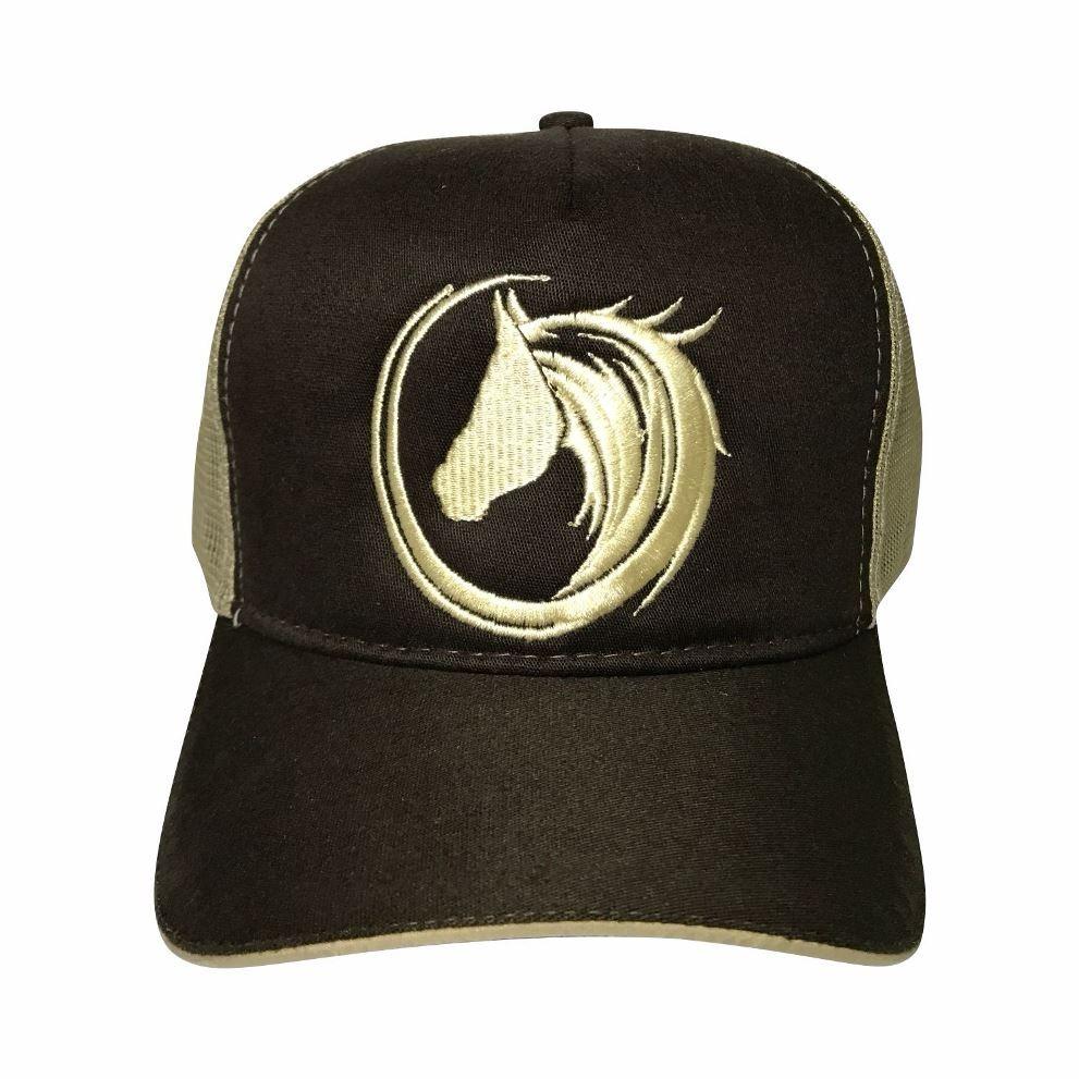 boné de vaquejada top horse cavalo aba curva trucker 1 unid. Carregando zoom . 85389a6d91f