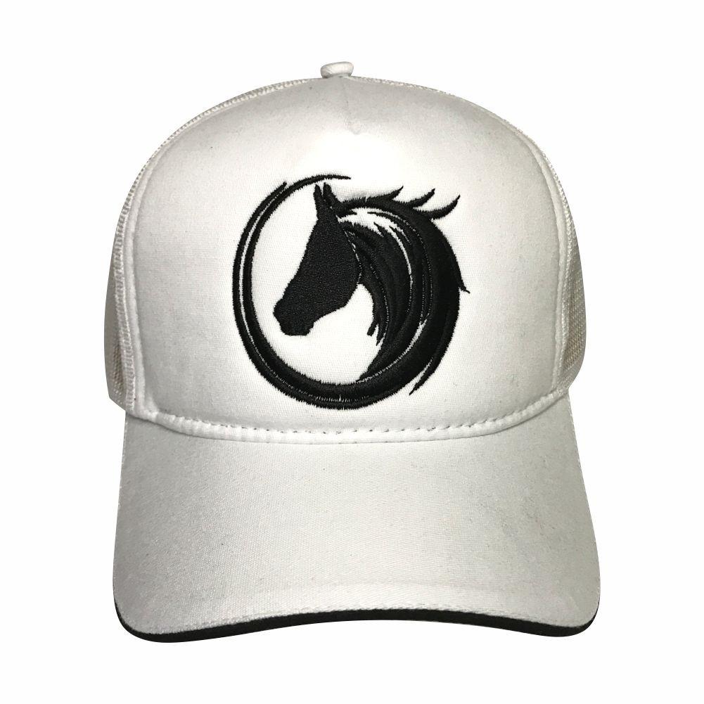88338b7b37 boné de vaquejada top horse cavalo aba curva trucker ref. 03. Carregando  zoom.