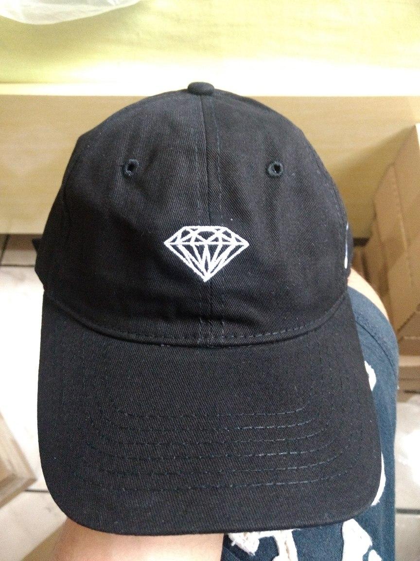 6bba9e12687ba bone diamond aba curva preto. Carregando zoom.
