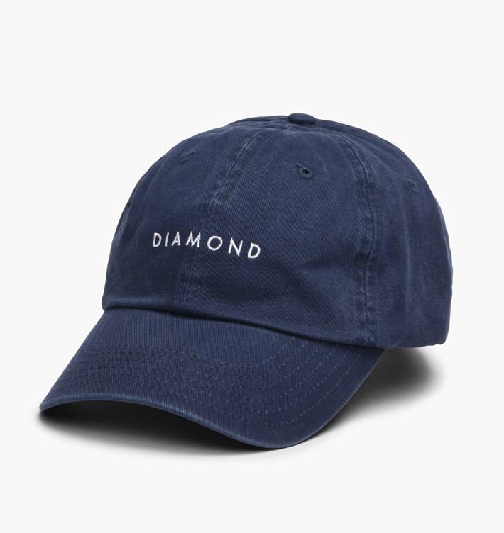55d604147ed2b italy boné diamond supply co leeway sports dad hat navy strap. bac55 e8144