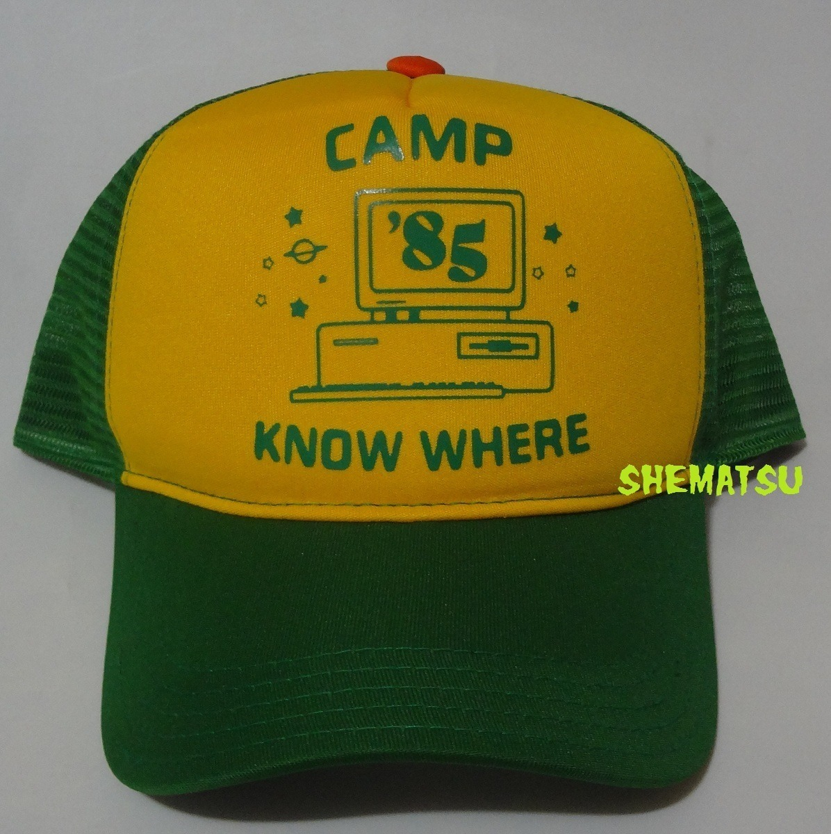 b8399ca4a63ad Boné Dustin Stranger Things 3 Camp Know Where Pronta Entrega - R$ 46 ...