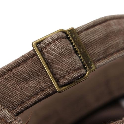 bone estilo  militar cor verde-claro - tecido importado novo