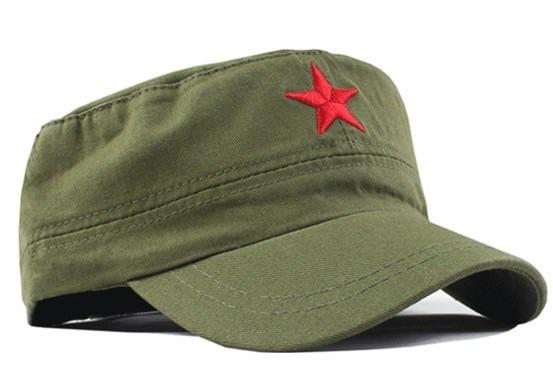 Boné Estrela Vermelha Revolucionário - R  50 8698423776f