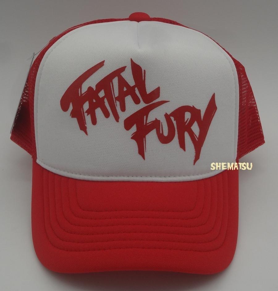 87f2da47d00 Boné fatal fury king of fighters terry bogard trucker cap carregando zoom  jpg 900x944 Fatal fury