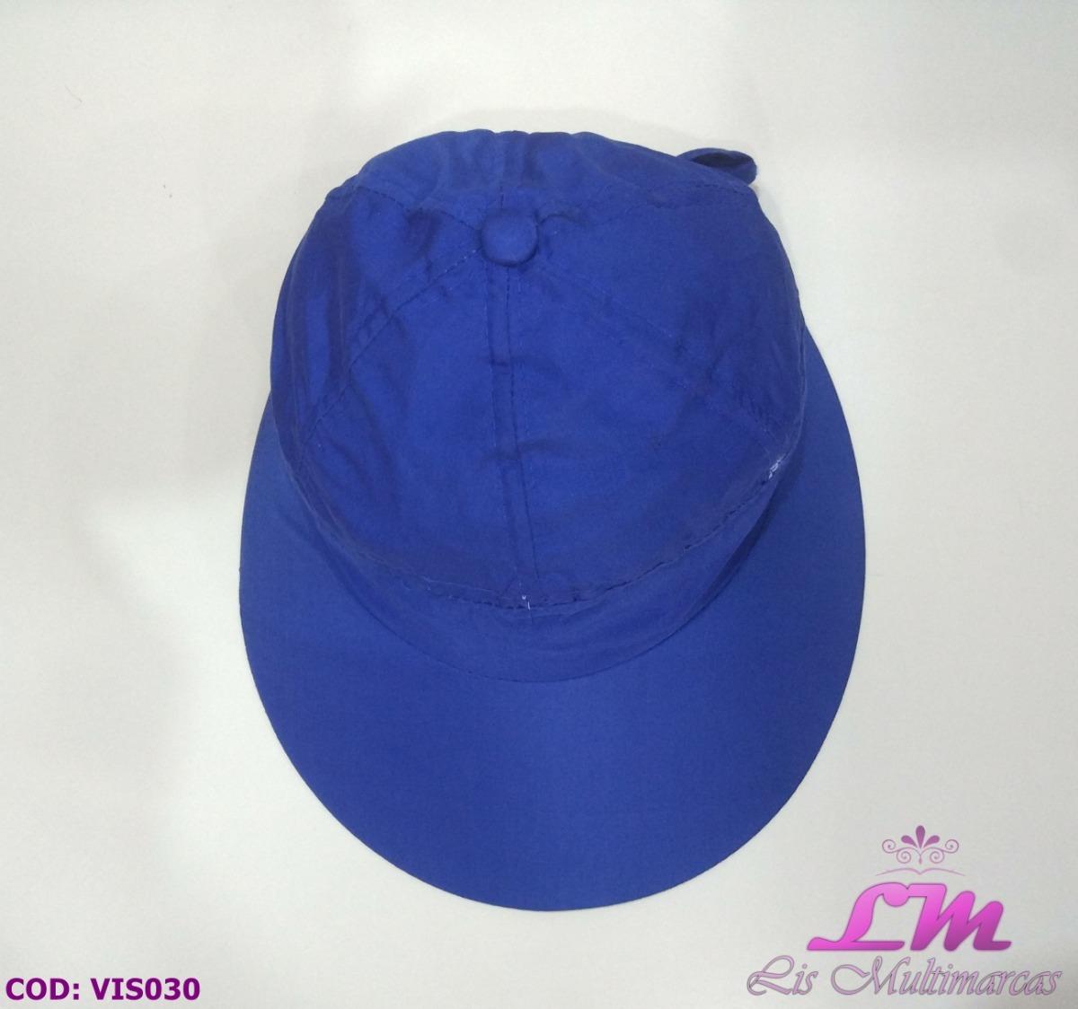 Chapéu Viseira Boné Feminino - Azul (praia 28eb069b4a9