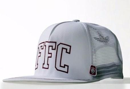 Boné Fluminense adidas Original Aba Reta - R  89 f254129cbf7