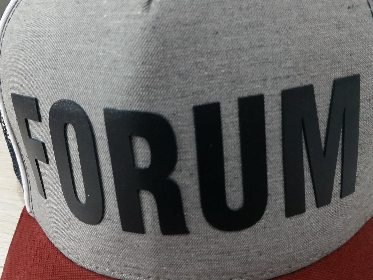boné forum trucker logo gigante silk 100% original. Carregando zoom. 5c5c1785b12
