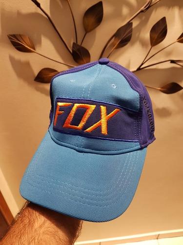 Boné Fox Azul - R  104 742708f13be