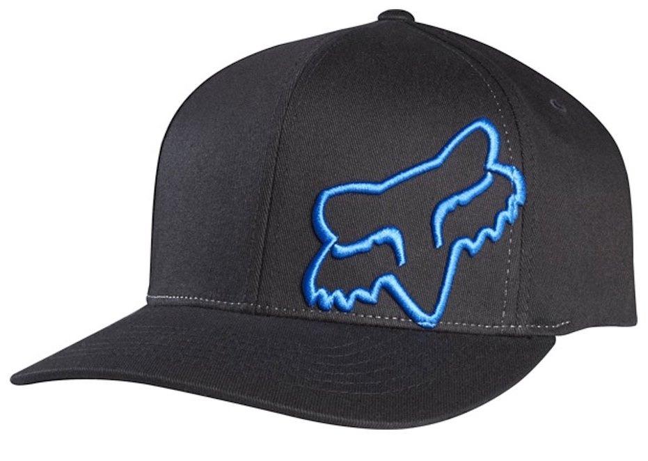 boné fox flex 45 flexfit 16 preto azul. Carregando zoom. bd346052de2