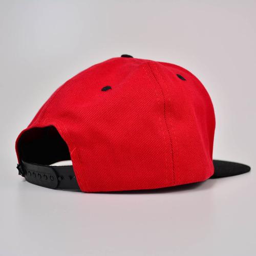 boné freeday snapback vermelho/preto