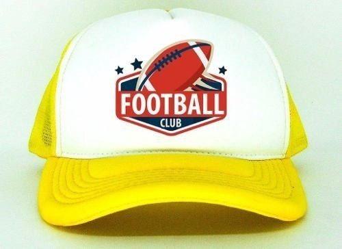 Boné Futebol Americano Aba Torta Várias Cores Trucker Lindo - R  34 ... 291da942733