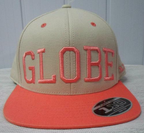 boné globe snapback clear