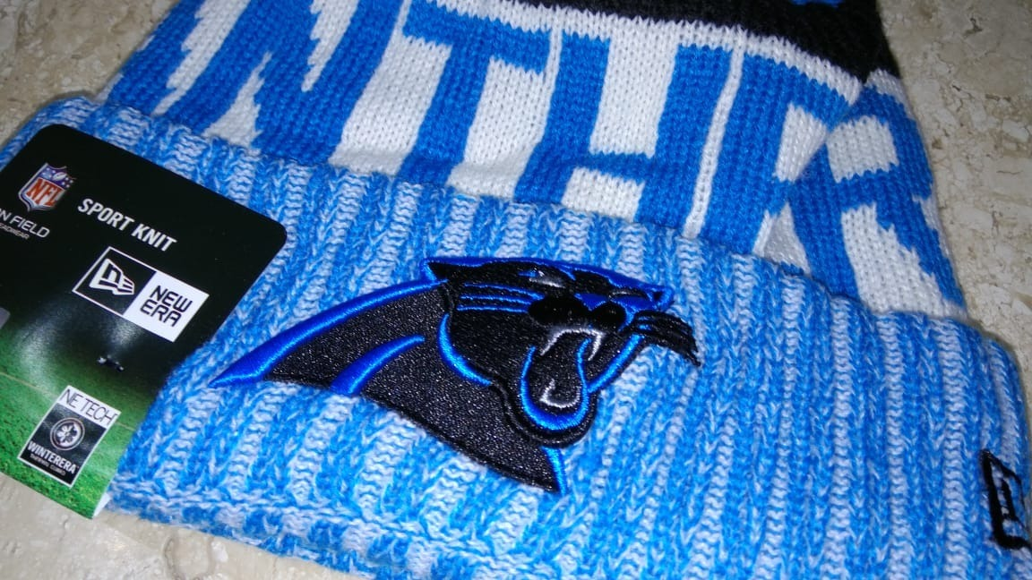 bone gorro nfl carolina panthers cam newton toca. Carregando zoom. 4de69077609