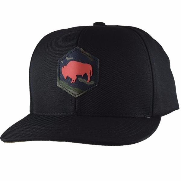 Boné Gringa  S Western Black Camo Snapback - R  149 d69d1ebfc67