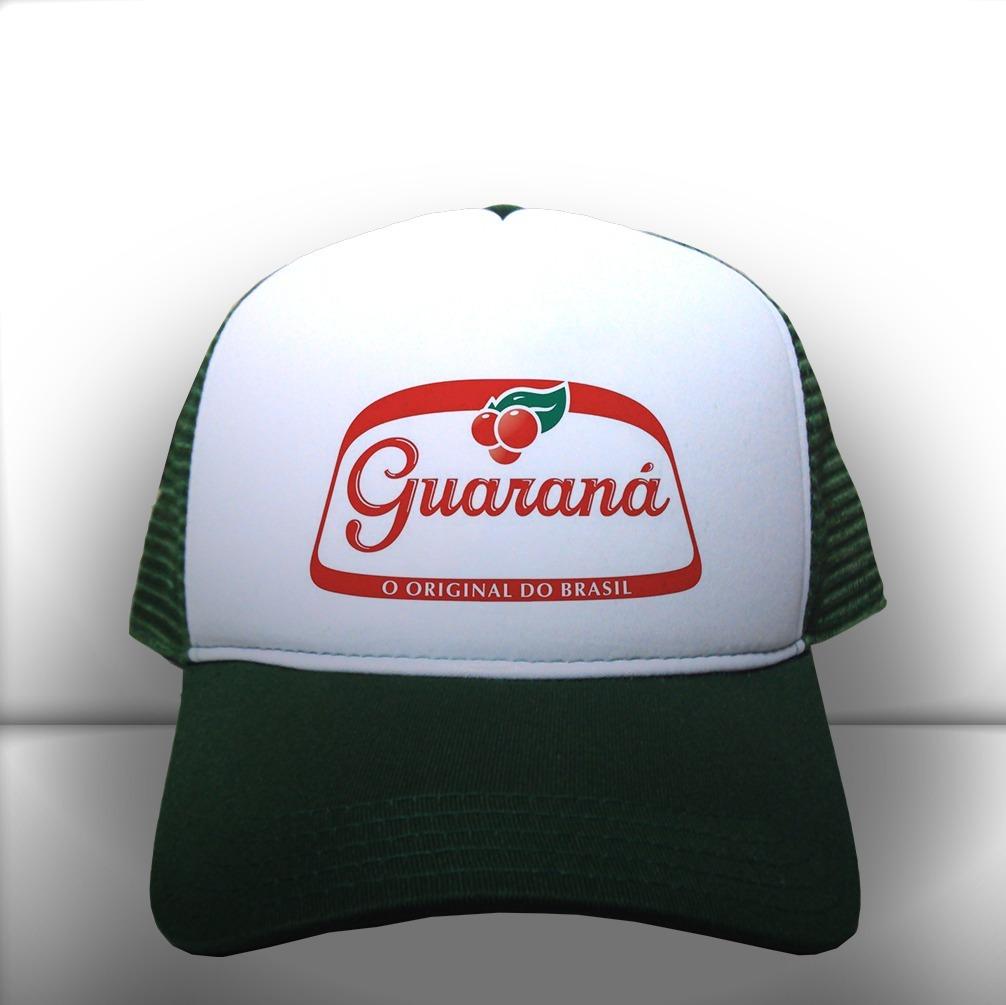 d5f405f72641e boné guaraná original brasil verde e branco frete grátis. Carregando zoom.
