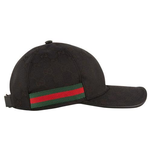 Boné Gucci Gg Canvas Mc Kapela Original Produto Europeu - R  1.299 ... 226b538aa85