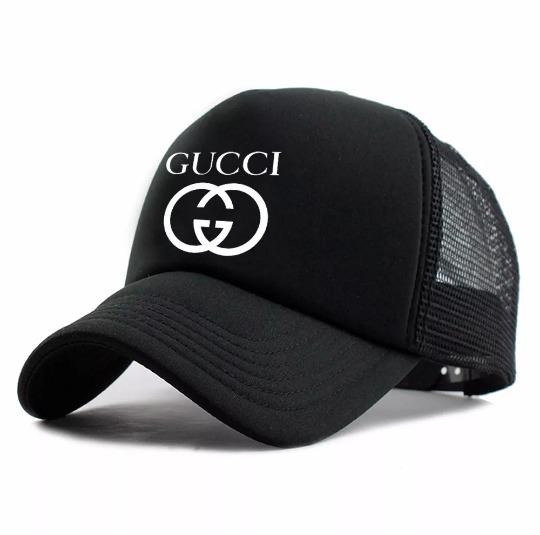 43cceccaf0fef Boné Gucci Telinha Trucker Grife Supreme Promoção - R  31,90 em ...